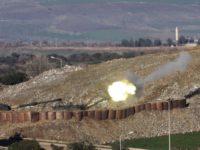 СМИ: танки Турции поддержали огнем наступление оппозиции в Сирии
