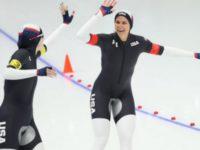 В Сети возмутились вызывающей ассоциации формой конькобежек из США