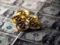 Курс биткоина незначительно упал после резкого роста